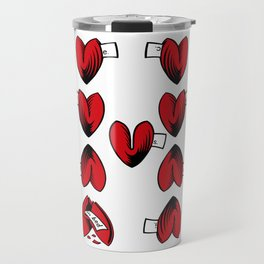 Delicious Deck: The Nine of Hearts Travel Mug