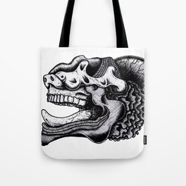 Illustration of a Ghost Tote Bag