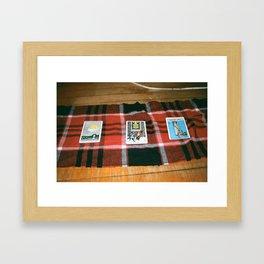 NO SLACK IN MY MACK Framed Art Print