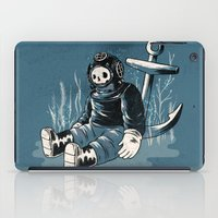 anchors iPad Cases featuring Anchors Aweigh by Chase Kunz