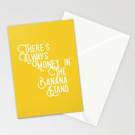 There's Always Money in the Banana Stand (Arrested Development) Stationery Cards