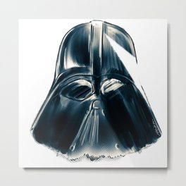 Mr.Vader Metal Print