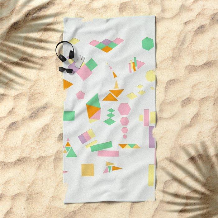 Juxtapose Beach Towel