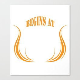 My life begin at 1966 born in 51 Canvas Print