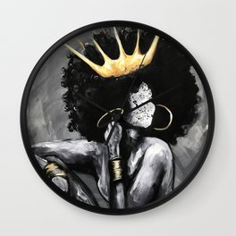 Naturally Queen VI Wall Clock