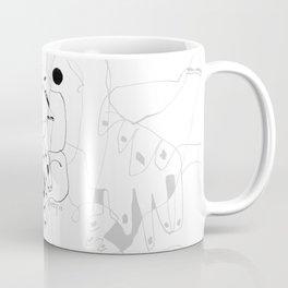 Purification of the Soul - b&w Coffee Mug