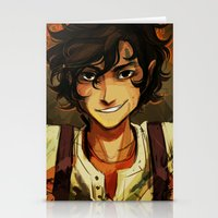 viria Stationery Cards featuring Leo by viria