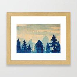 Memory Landscape 9 Framed Art Print