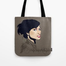 Gasoline Bride Tote Bag