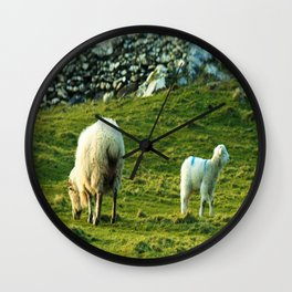 What's Over Here Wall Clock