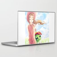 digimon Laptop & iPad Skins featuring Digimon Dream Mimi by valsharea