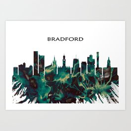 Bradford Skyline Art Print