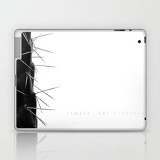 Simple - but effective. Laptop & iPad Skin