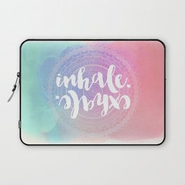 Inhale Exhale Laptop Sleeve