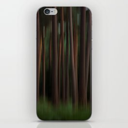 Pine trees iPhone Skin