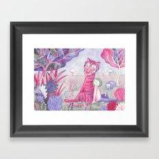 Tigre Framed Art Print
