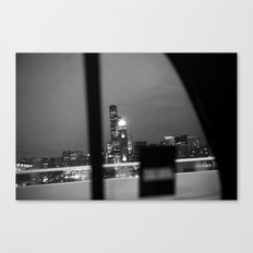 From the back of a cab Canvas Print