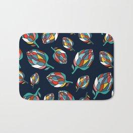 Artichoke print Bath Mat