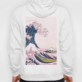 The Great Pink Wave off Kanagawa Hoody