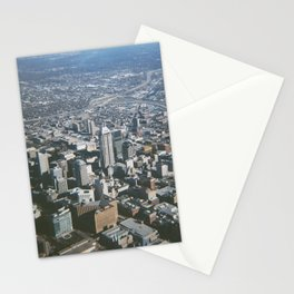 Indianapolis Skyline Stationery Cards