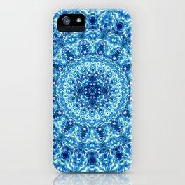 Crystal Radiance Mandala iPhone Case