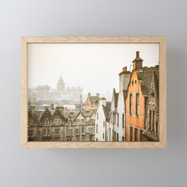 Grassmarket Rooftops Framed Mini Art Print
