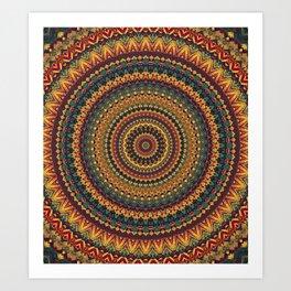 MANDALA DCXXIX Art Print