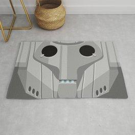 Cyberman - Doctor Who Rug