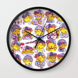 Cap boy Wall Clock