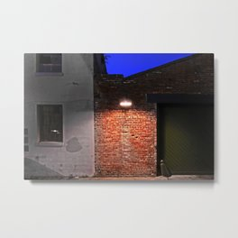 New Orleans Warehouse District - Color Metal Print