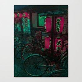 Ramen nights Canvas Print