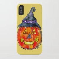 jack daniels iPhone & iPod Cases featuring Jack by Shelley Ylst Art