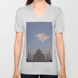 Taj Mahal Unisex V-Neck