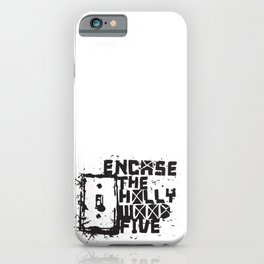 Hollywood Five iPhone Case