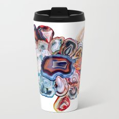 Earth's Loveliness, Agate Collection Metal Travel Mug