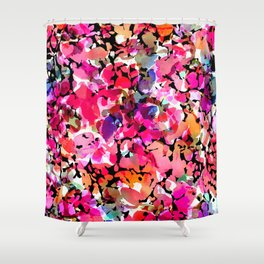 Hawaiian Batik Floral Shower Curtain
