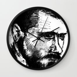 Portait2 Wall Clock