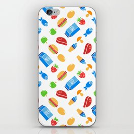 It's kind of a big dill ( fun food pattern) iPhone Skin