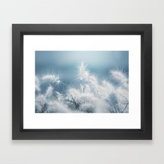 the art of a soft landing Framed Art Print