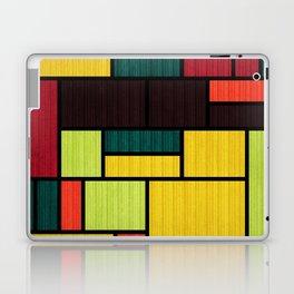 Mondrian Bauhaus Pattern #09 Laptop & iPad Skin