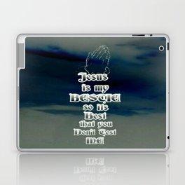 Jesus Is My Bestie Laptop & iPad Skin