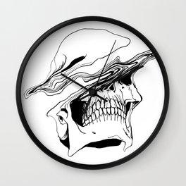 Skull (Liquify) Wall Clock