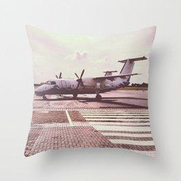 plane_male Throw Pillow