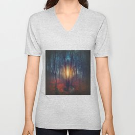 cRies and whiSpers Unisex V-Neck