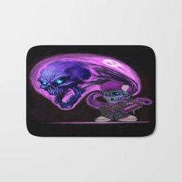 Skater skully  Bath Mat