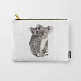 Koala bear and her baby Carry-All Pouch