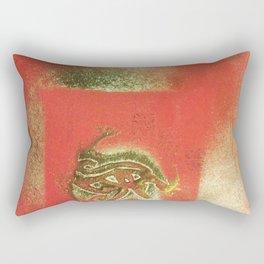 The Left Eye of Horus Spray Paint Graffiti Rectangular Pillow