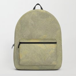 Champagne Skies Silver And Gold Metallic Plasters - Fancy Faux Finishes Backpack