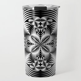 Geometric damask Travel Mug