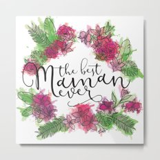 Best Mum Metal Print